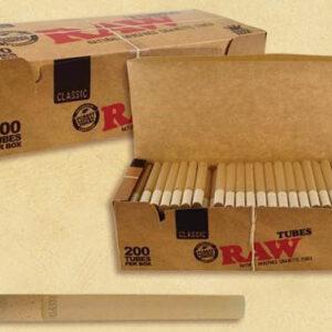 RAW Zigarettenhülsen Tubes 200 Stk kaufen online