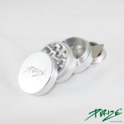 Purize Grinder Silber 4 teilig Alu Mühle kaufen online shop schweiz günstig