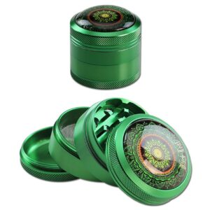 Black Leaf MAndala Grinder 4- teilig grün kaufen online