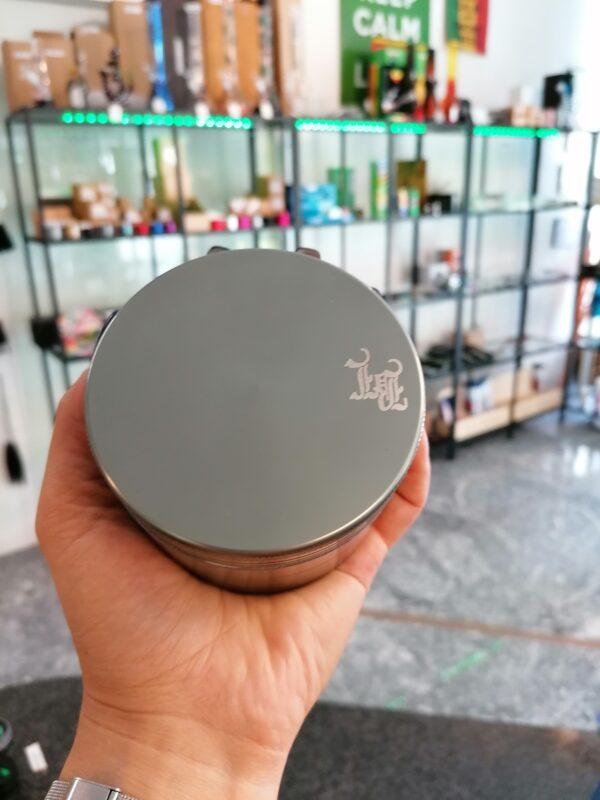 Black Leaf xxl Grinder grosse Mühle 90mm Durchmesser thc zerkleinern hanf kaufen online shop günstig schweiz