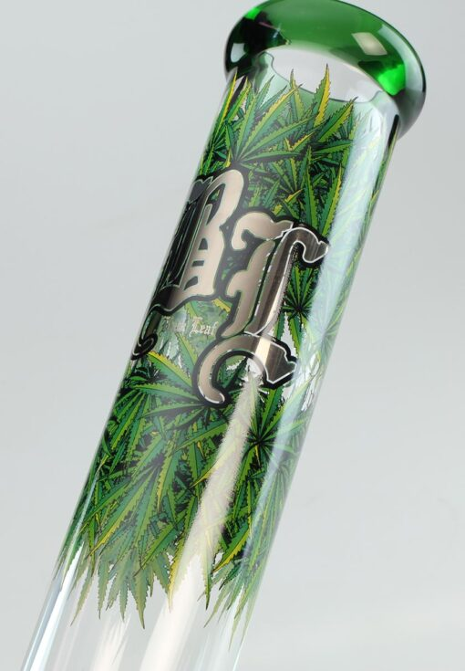 Black Leaf Bong Leaves 4 Zylinderbong Ice Hals kaufen online Shop Schweiz günstig