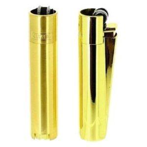 Clipper Feuerzeug Gold glanz und matt mit Geschenkbox kaufen online shop schweiz günstig Romanshorn