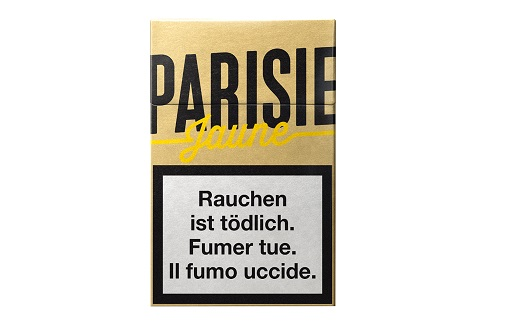 Parisienne Jaune/Gelb Box ohne Zusatzstoffe