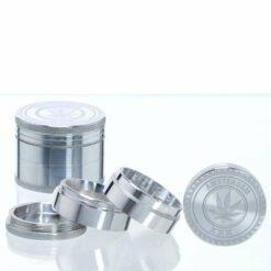 Amsterdam Grinder XXX 4 teilig Silber kaufen online Shop günstig Schweiz