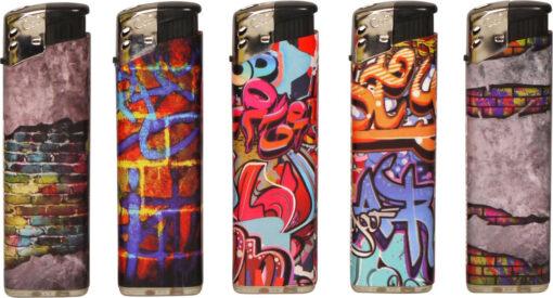 Cool Feuerzeug mit Graffiti Design günstig kaufen online Shop