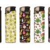 Cool Feuerzeug mit Hanf Leaf Designs kaufen günstig online Shop