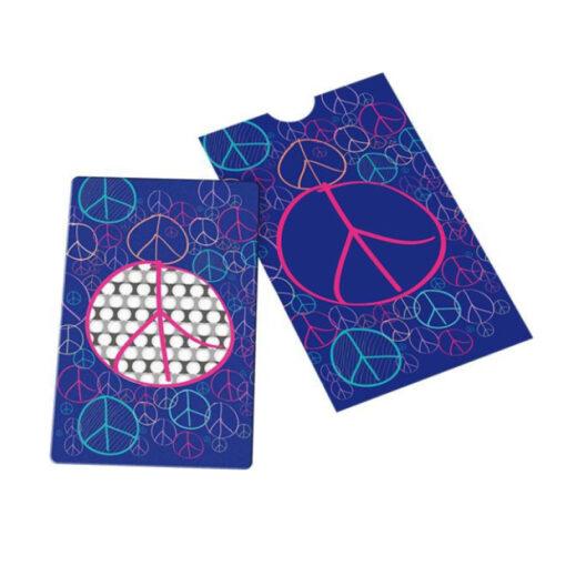Grinder Card Peace Violett Blau Pink kaufen online Shop Schweiz günstig