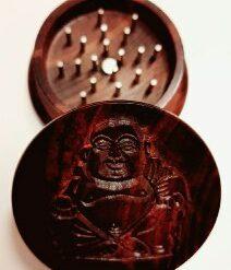 Holz Grinder Budha mit Nagelzähne Wood kaufen günstig online Shop Schweiz