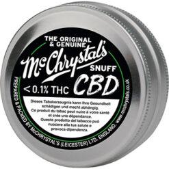 Mc Crystals CBD Snuff Schnupftabak ohne THC kaufen günstig Schweiz online Shop