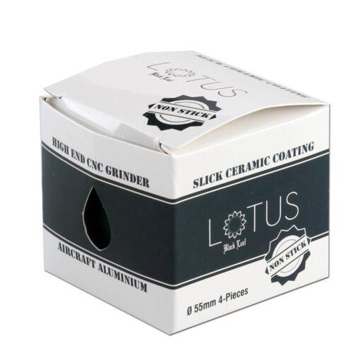 Black Leaf Lotus Keramik Creamic Grinder 55mm weiss Verpackung kaufen günstig online Shop Schweiz