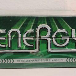 Energy Menthol Zigarettenhülsen Filterhülsen 100 + 10 Gratis kaufen online günstig Schweiz