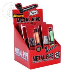 Metal Pipe Metall Pfeifen inklusiv 5 Siebe kaufen online SHop Schweiz