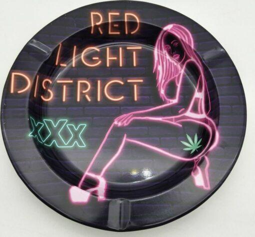 Metal Tin Red Light District XXX Aschenbecher Ashtray kaufen online Shop günstig Schweiz