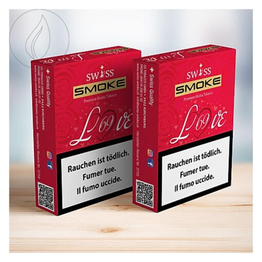 Swiss Smoke Love 69 50g Shisha Tabak kaufen