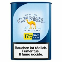 Camel Blue Extra Volume Drehtabak 70 Gramm Dose kaufen Schweiz Online Shop günstig Tabak