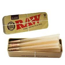 RAW Caddy Metal Tin Case Box King Size für Cones kaufen Schweiz online Shop günstig