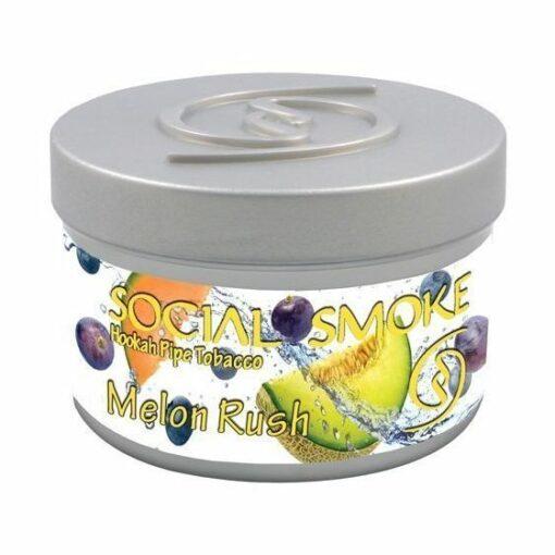 Social Smoke Melon Rush 100 Gramm Shisha Tabak online Shop Schweiz günstig kaufen