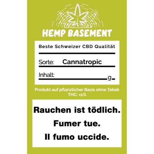 Hemp Basement Cannatropic CBD Blüten kaufen online