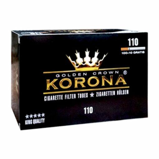 Korona Zigaretten Hülsen mit Filter kaufen günstig zum stopfen Schweiz online Shop