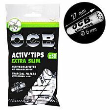 OCB Activ Tips Extra Slim 6mm Aktivkohlefilter kaufen Schweiz günstig online Shop Plastik Sack Grip