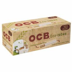 OCB ECO Tubes Zigaretten Hülsen zum stopfen umweltfreundlich biologisch kaufen online Shop Schweiz günstig