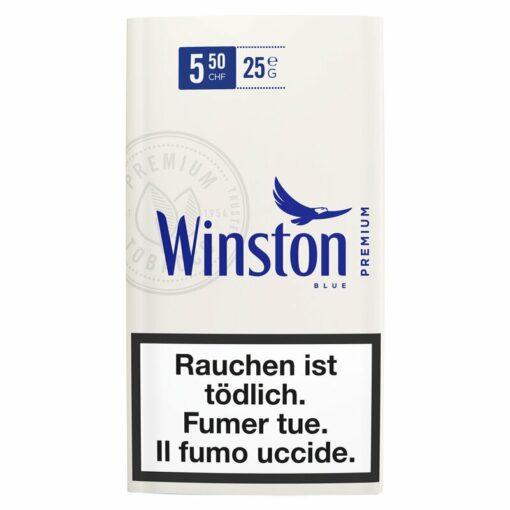 Winston Blue Drehtabak Beutel 25g kaufen online