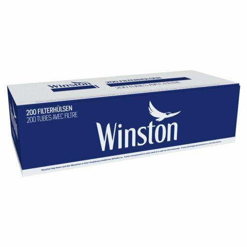 Winston Blue Zigarettenhülsen Filterhülsen kaufen online