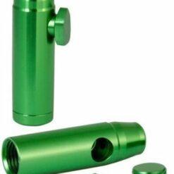 Aluminium Dosierer Bullet Grün Green günstig online schweiz kaufen