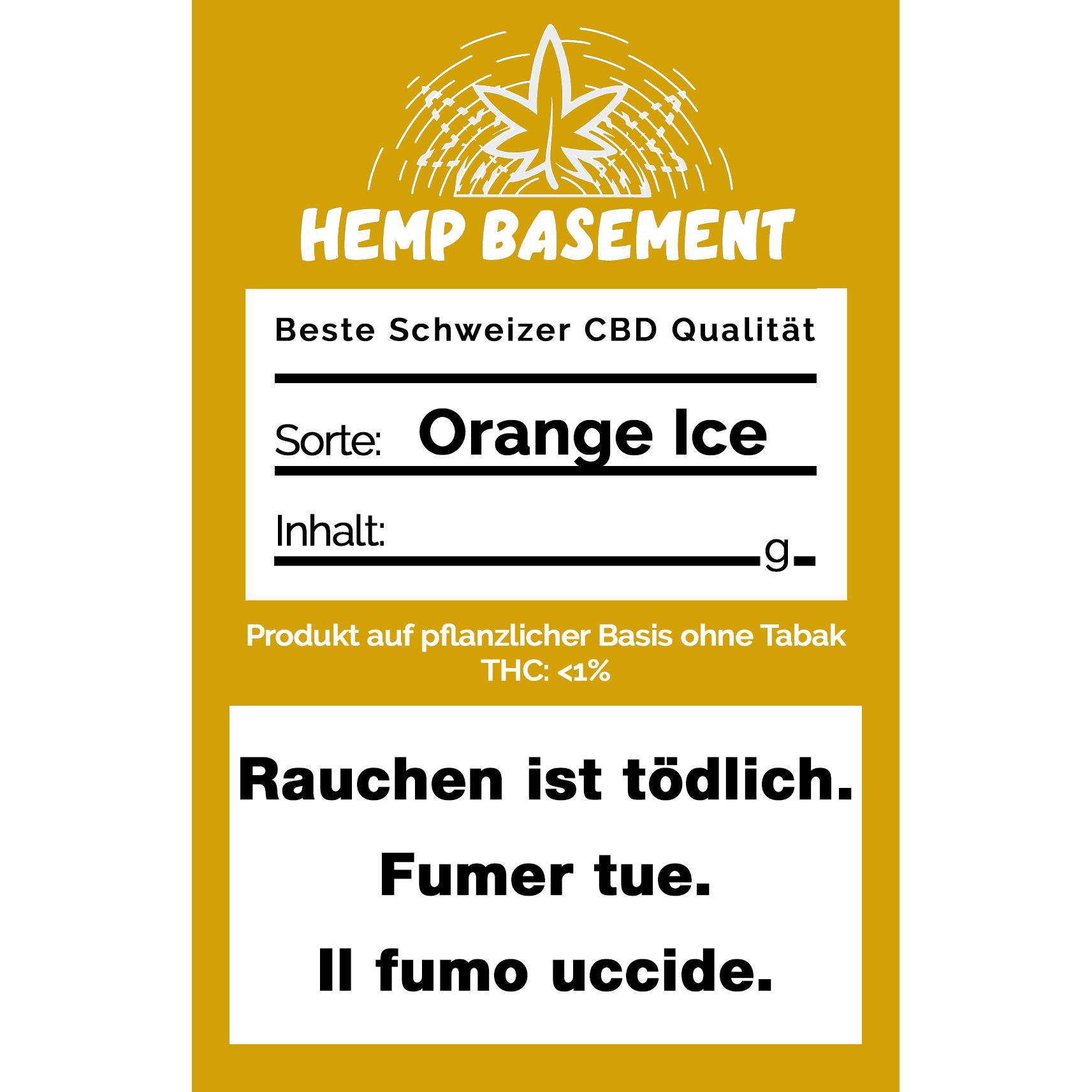 Hemp Basement Orange Ice CBD kaufen online