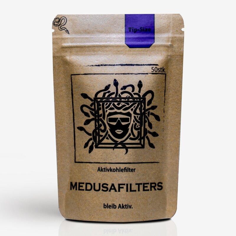 Medusa Aktivkohlefilter 50 Stück Slim 6mm kaufen online shop schweiz günstig