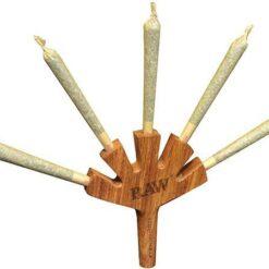 RAW Level Five 5 Joints Halter auf einmal Wood Holz Halter kaufen online schweiz günstig