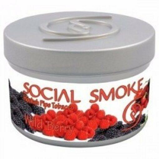 Social Smoke Wild Berry Shishatabak kaufen online