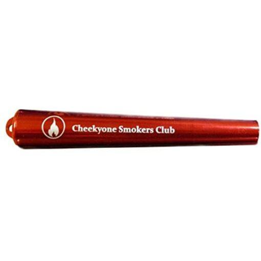 Cheekyone Smokers Club Cone Joint Aufbewahrung Aluminium Red Rot kaufen schweiz günstig online shop