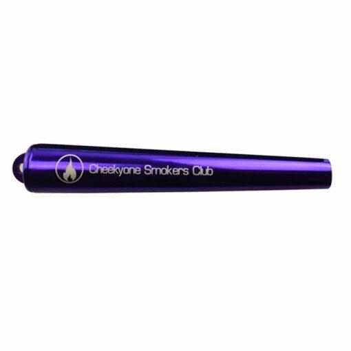 Cheekyone Smokers Club Cone Joint Aufbewahrung Aluminium Violett Purple kaufen schweiz günstig online shop