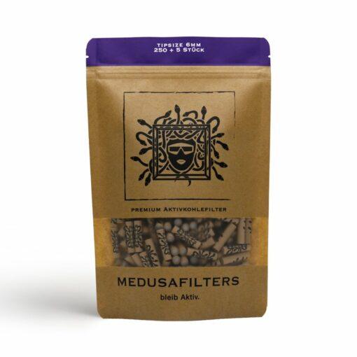 Medusa Aktivkohlefilter 250 Stück 6mm kaufen günstig online shop schweiz