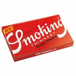 Smoking Thinnest DW Double Window dünne Zigarettenpapes Kurze Blättchen 120 kaufen online Shop Schweiz günstig