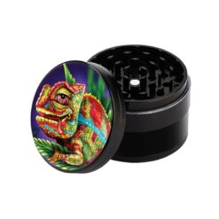 V Syndicate Grinder Cloud 9 Chameleon Non Stick Jamaica Leaf 4 teilig kaufen online shop schweiz günstig.jpg