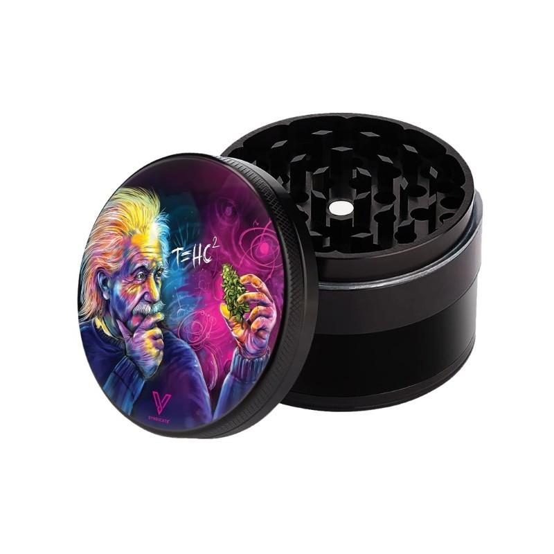 V Syndicate Grinder Einstein Non Stick Jamaica Leaf 4 teilig kaufen online shop schweiz günstig